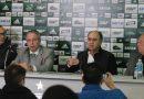 Marcelo Oliveira é apresentado pela diretoria coxa-branca como novo treinador para a temporada