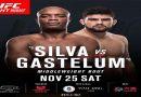UFC confirma luta entre Anderson Silva e Kelvin Gastelum para novembro, em Xamgai
