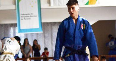 Atleta de Curitiba representa o Brasil no Sul-americano de Judô